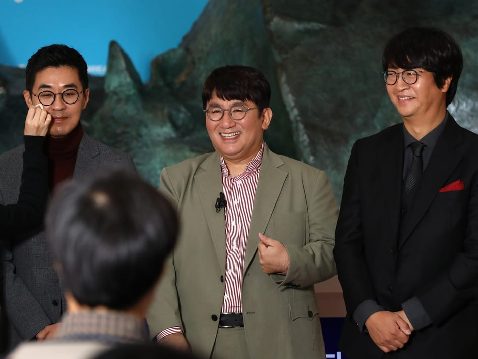 BAng Si Hyuk resigns as HYBE CEO