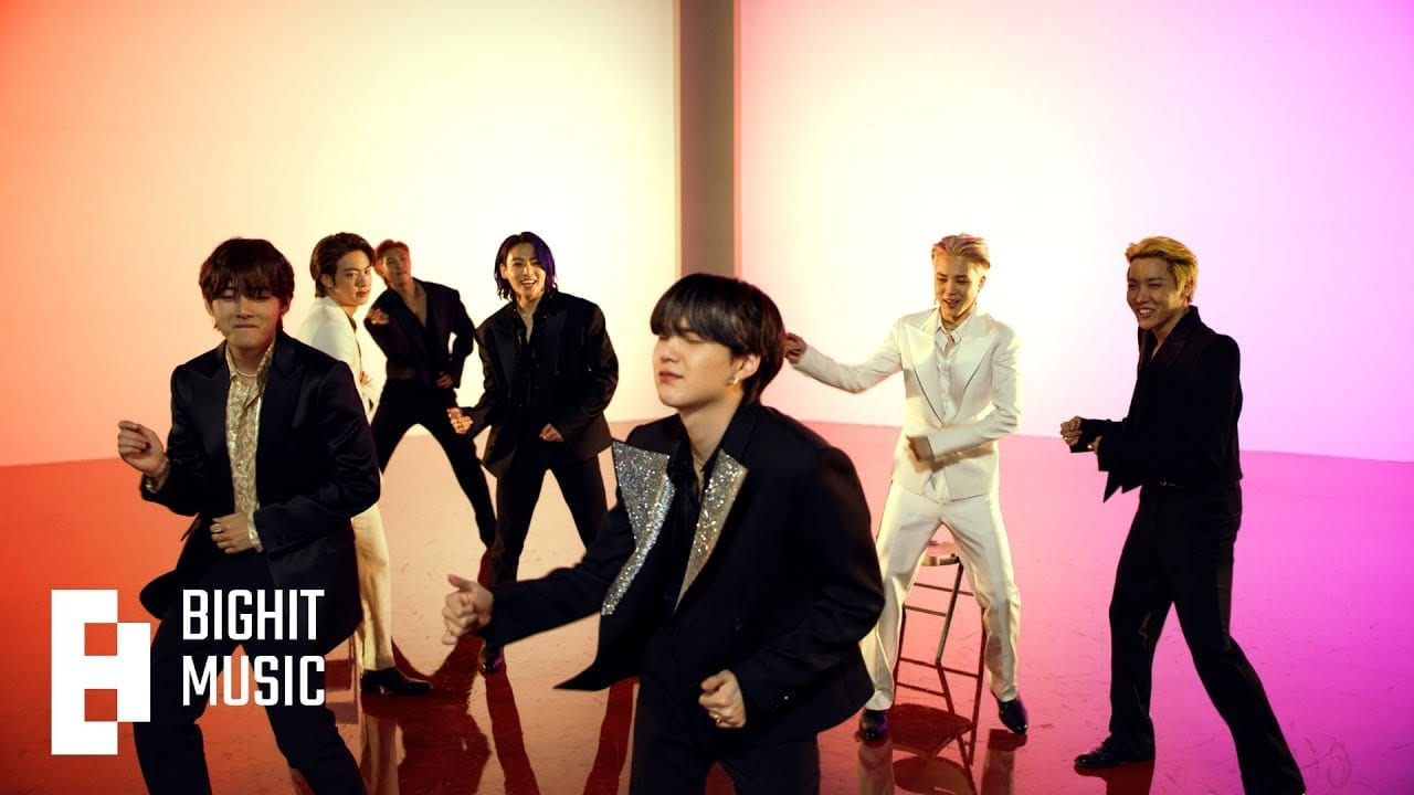 BTS and Ed Sheeran'permission to Dance'