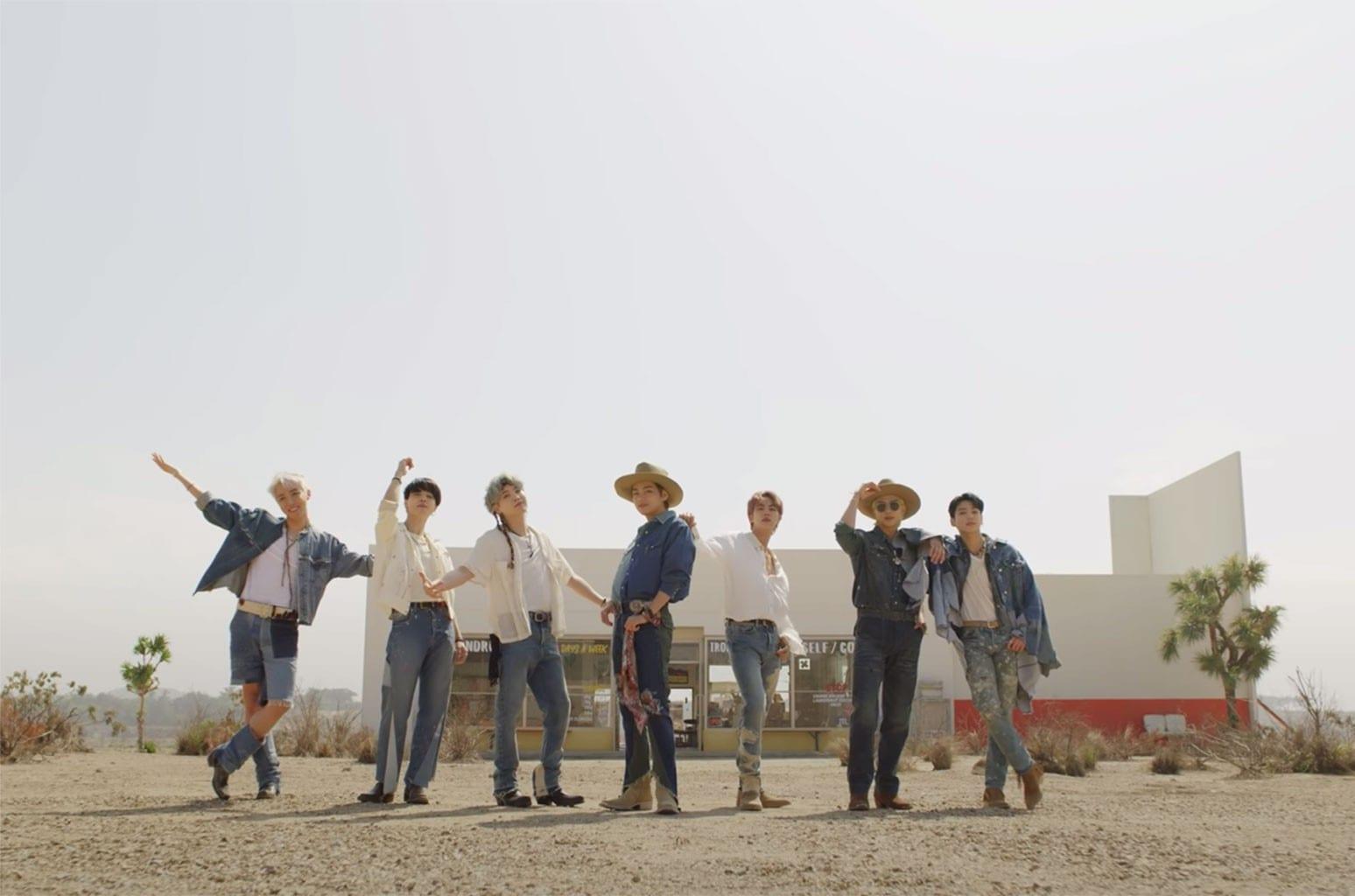 BTS Permission to Dance teaser