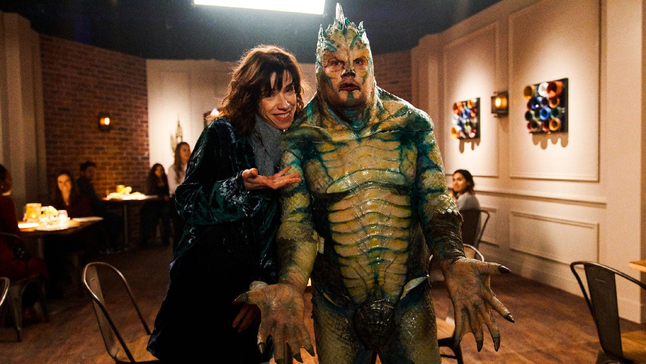 James Corden and Sally Hwkins in Amazon's Mammal