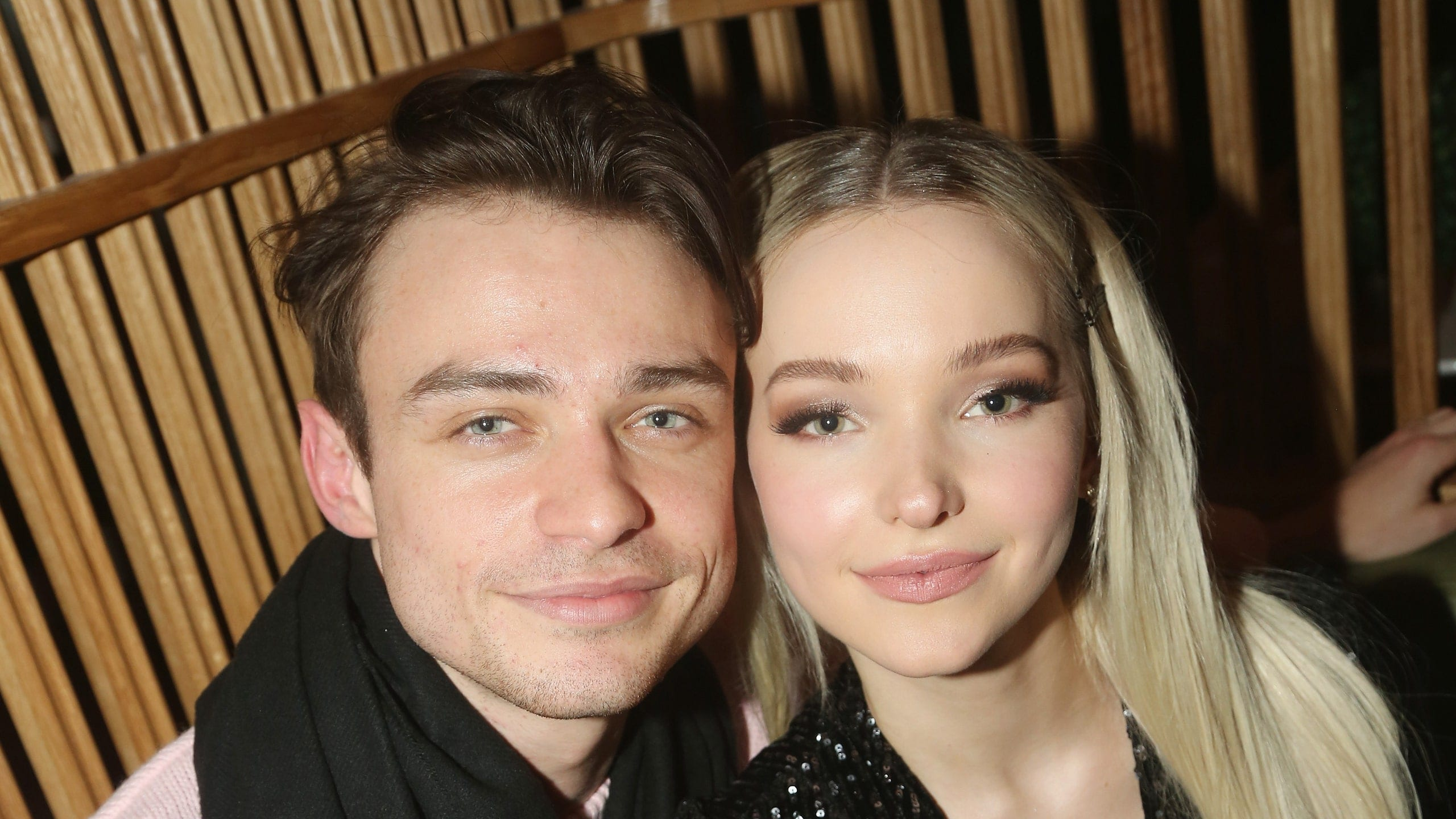 why did dove cameron and thomas doherty break up