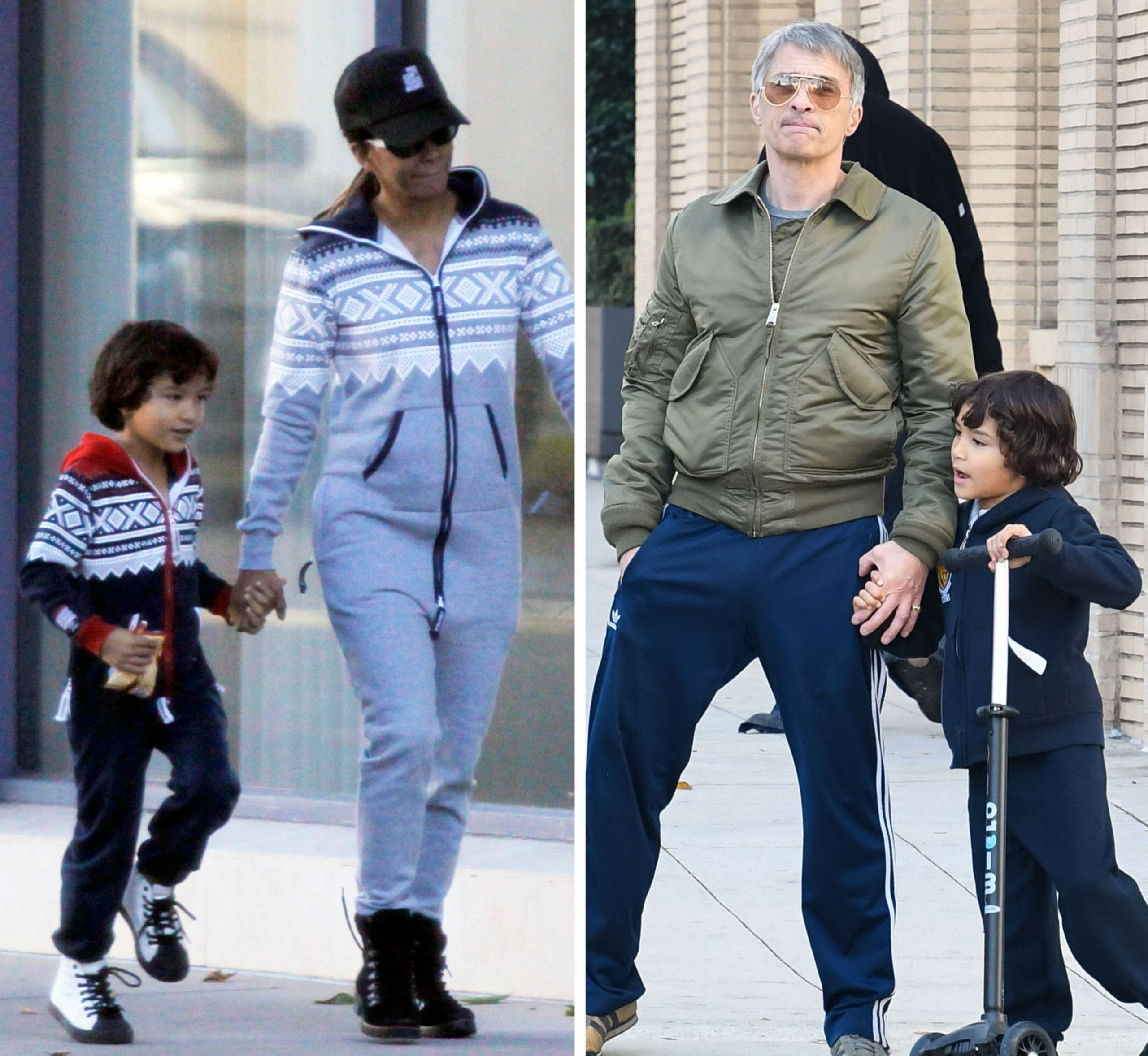 Olivier and Halle Co-Parenting