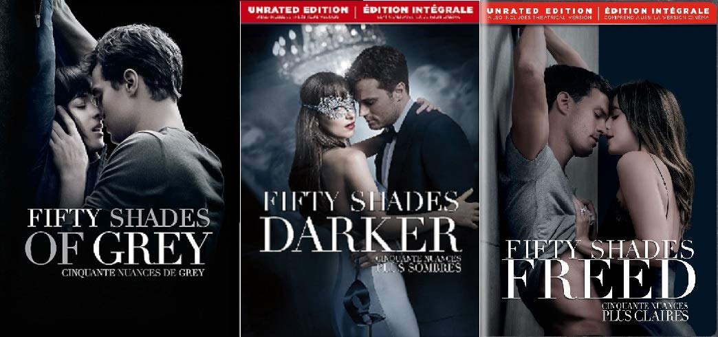 Fifty Shades Darker, Fifty Shades Freed, Fifty Shades of Grey