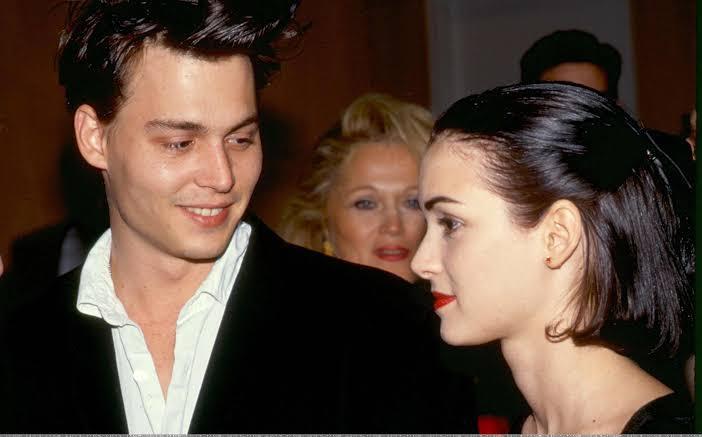 Jhonny Depp and Winona Ryder
