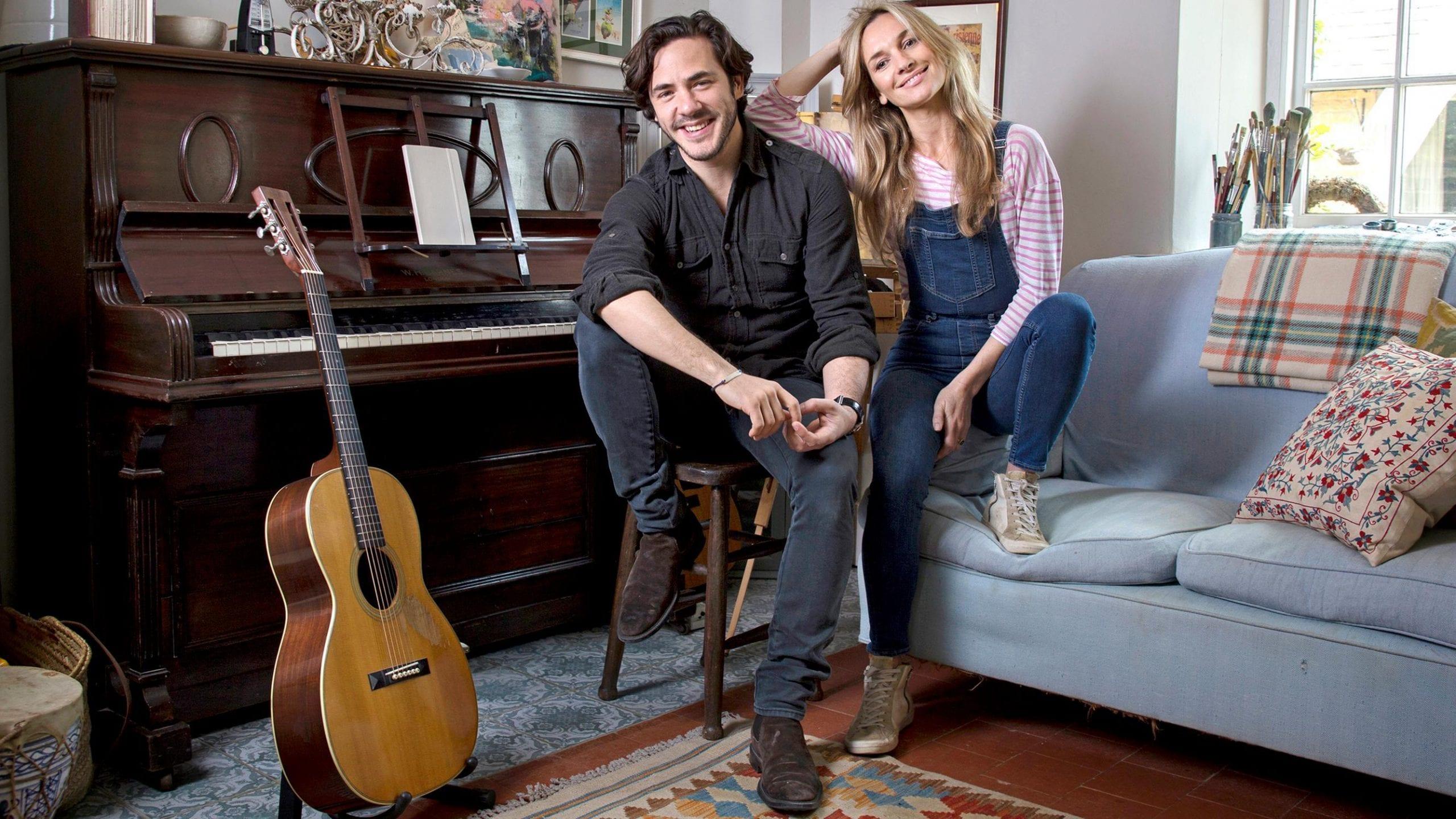Jemma Powell and Jack Savoretti
