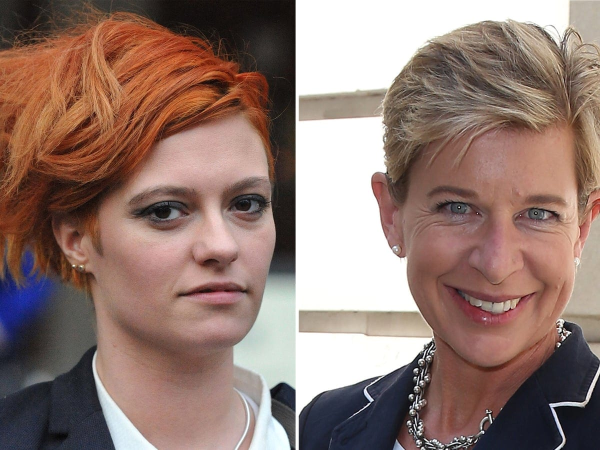 Jack Monroe on the Left, Katie on the Right