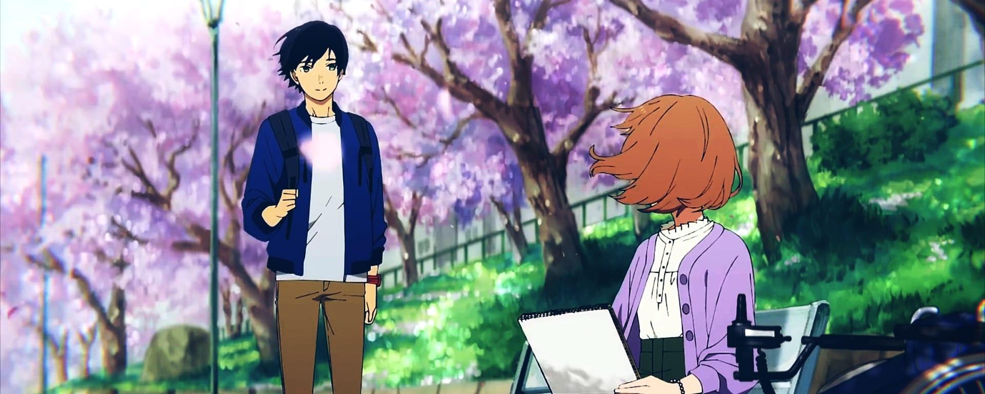 josee meets Tsuneo