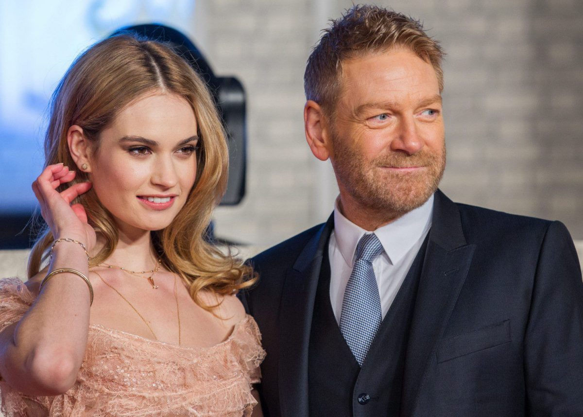 Kenneth Branagh who is he dating?