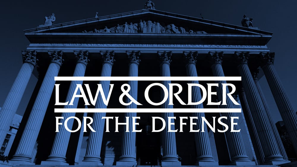 Law & Order for The Defence cancelled by NBC