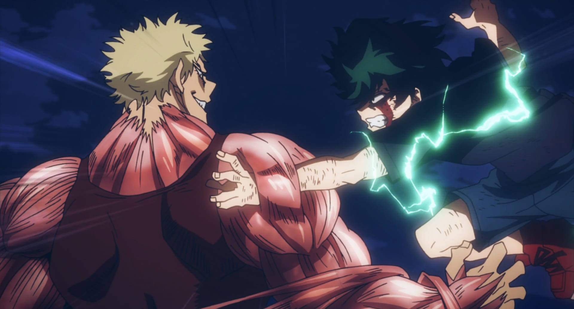 muscular vs Deku