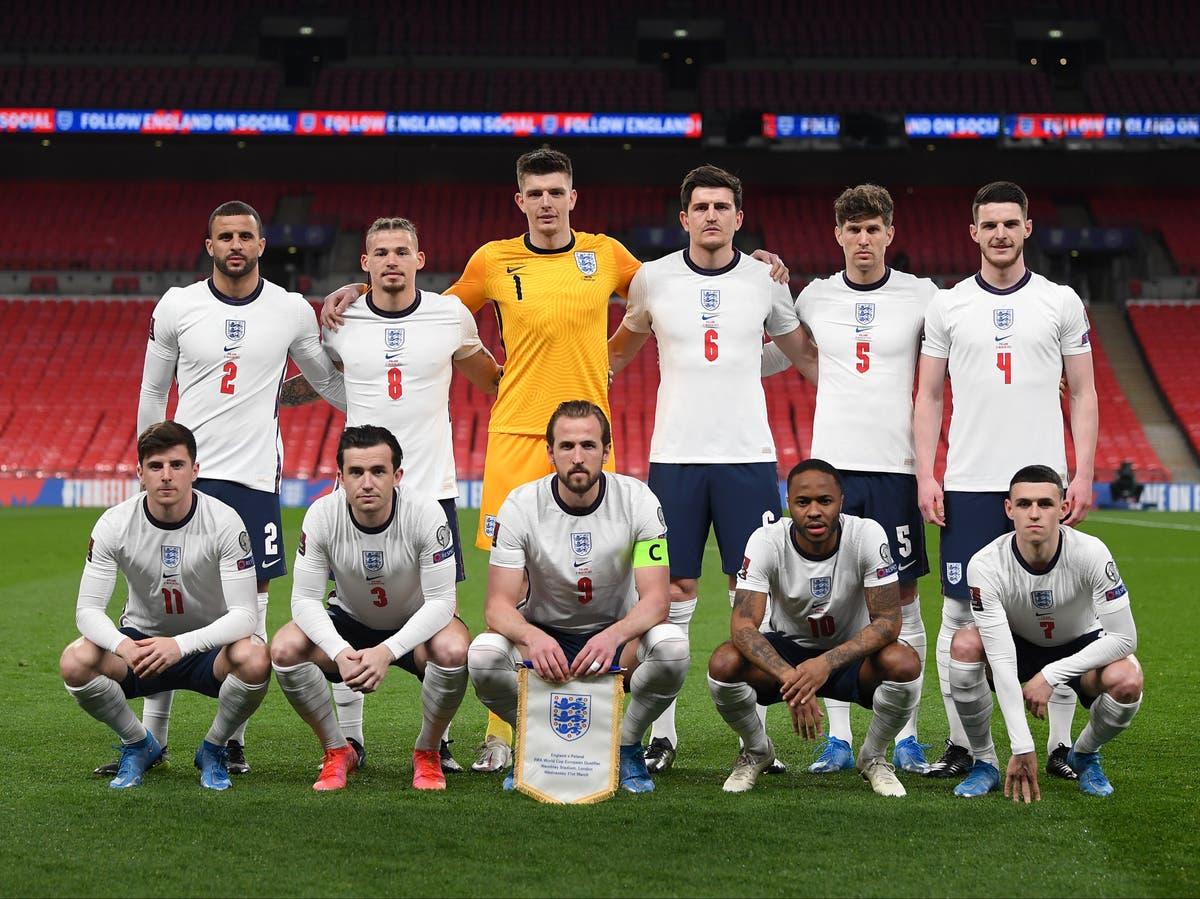 Gareth with the English Euro Squadl