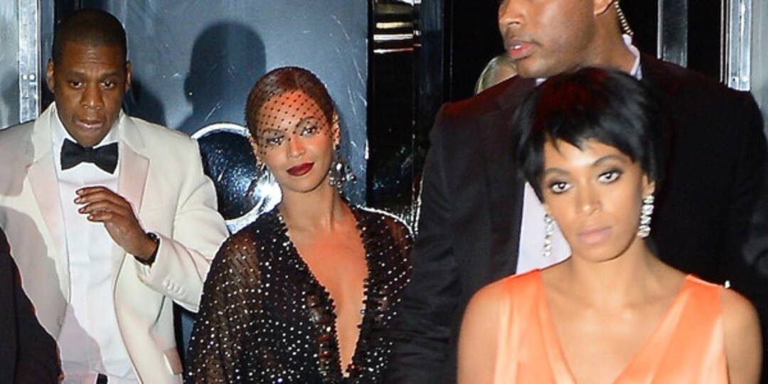 Jay Z and Beyonce along with Solange