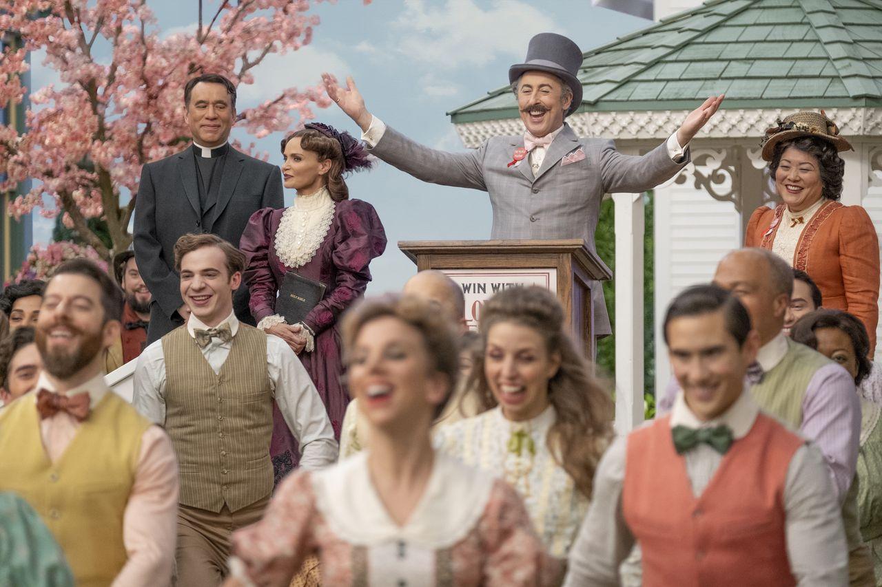 The cast of Schmigadoon