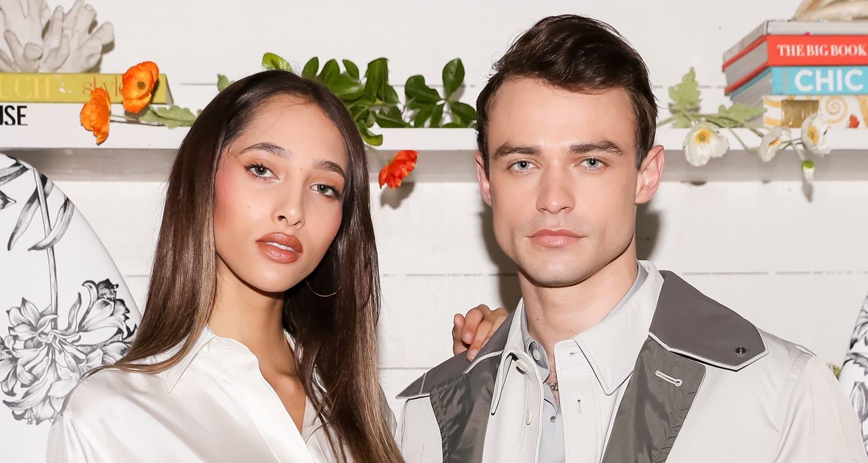 Yasmin Wijnaldum and Thomas Doherty dating