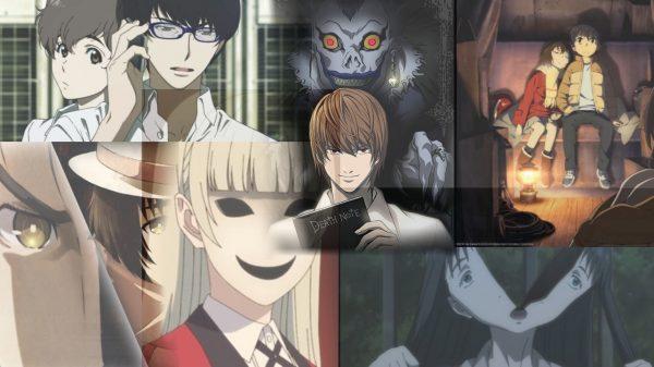 Best psychological anime