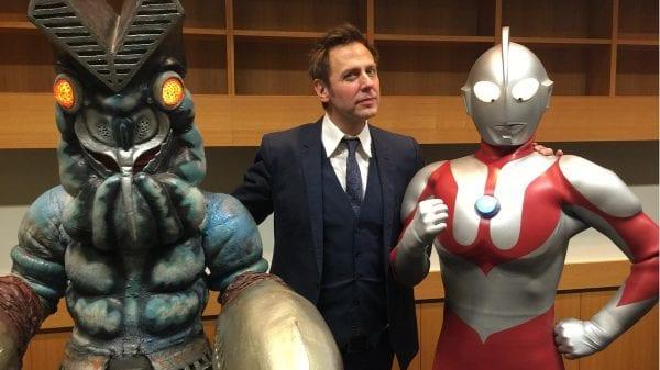 Ultraman and James gunn