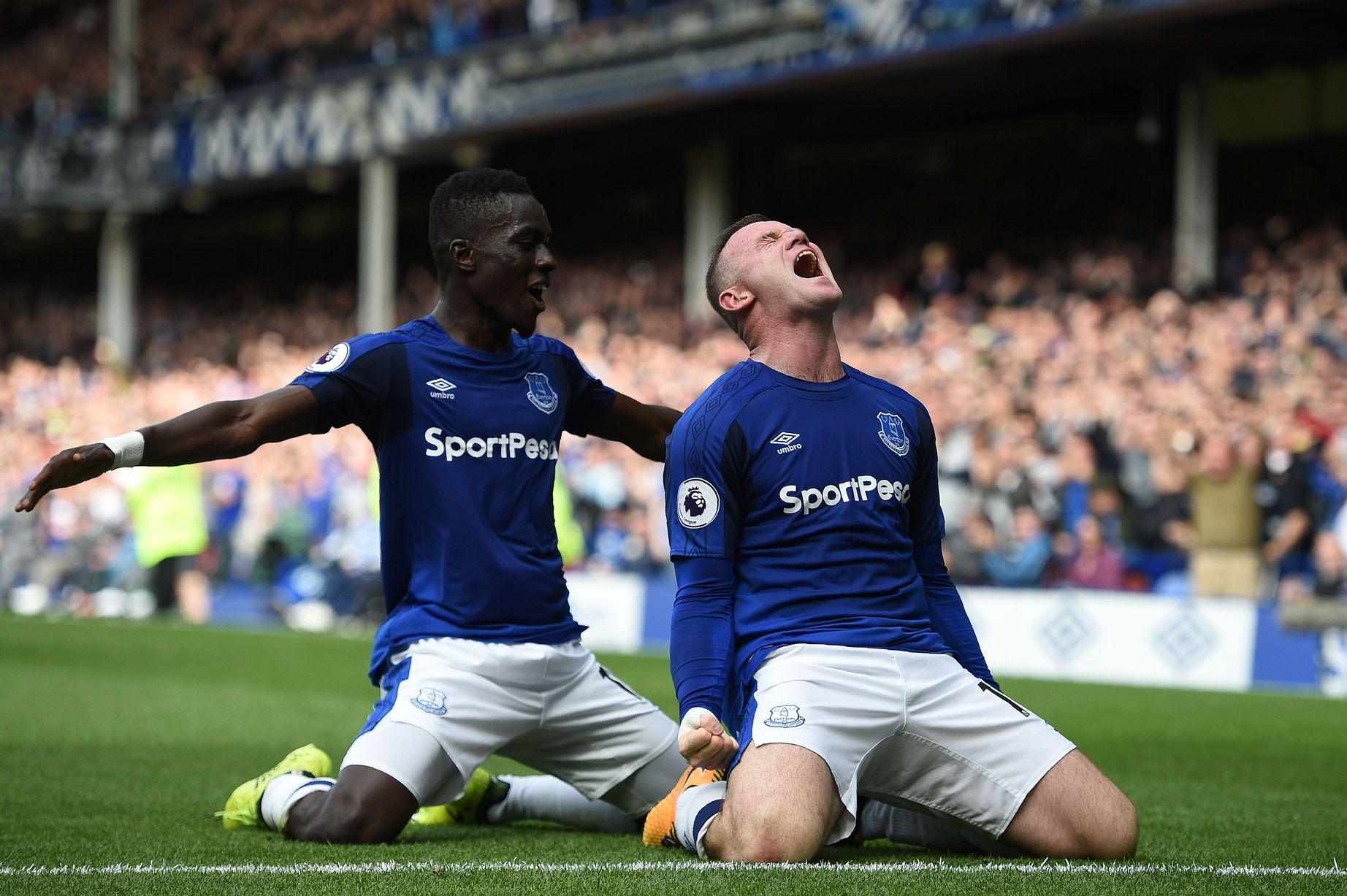 Wayne Rooney for Everton