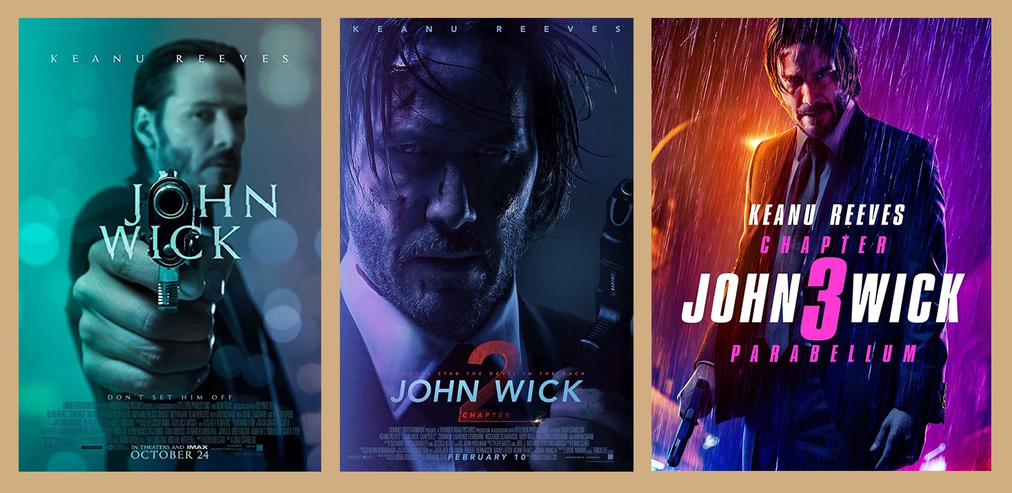 John Wick, John Wick: Chapter 2, John Wick: Chapter 3