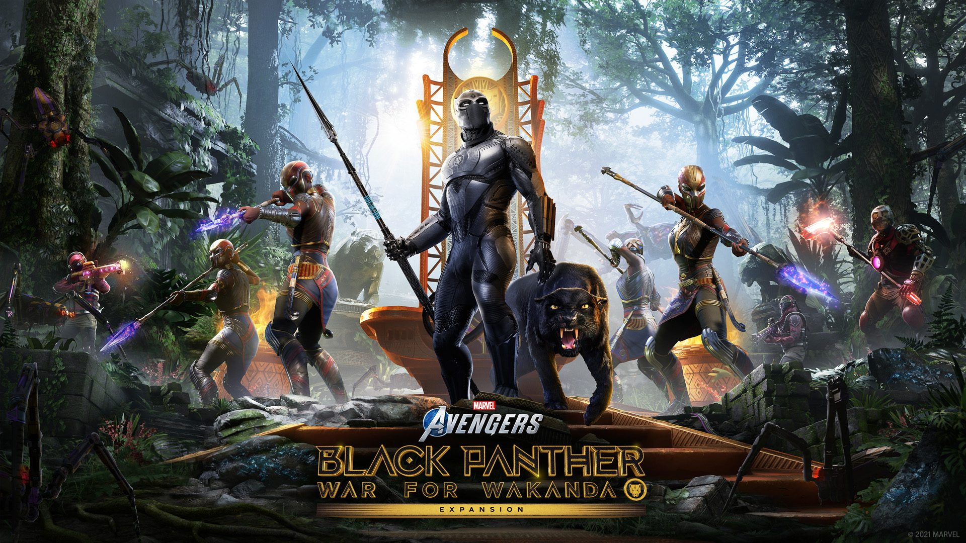 All About Marvel Avengers Black Panther DLC