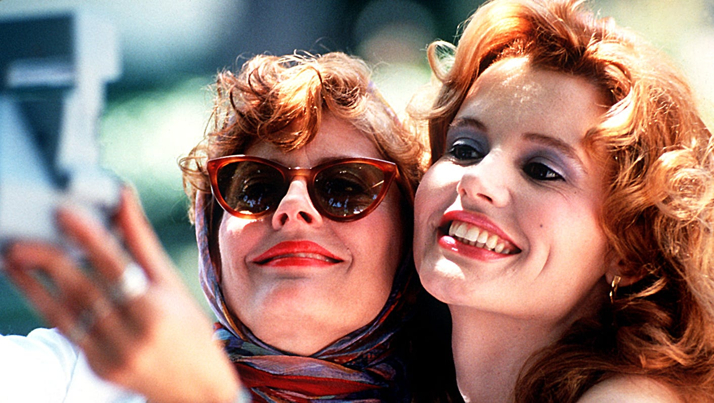 Thelma and Louise filmed