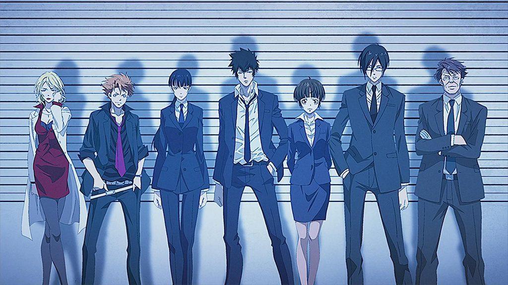 Psycho-Pass anime like Millionaire Detectiveil