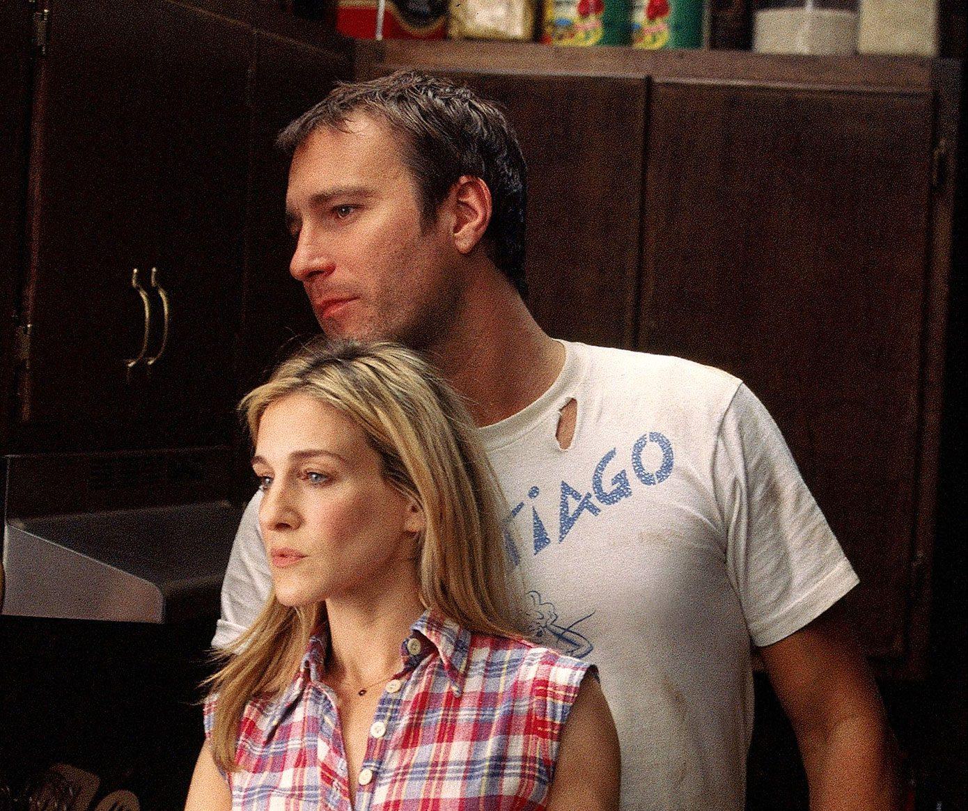 Carrie and Aidan