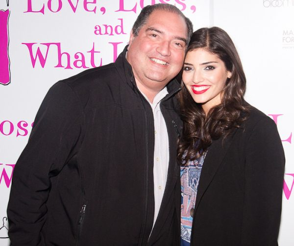 Amanda Setton With Her Father