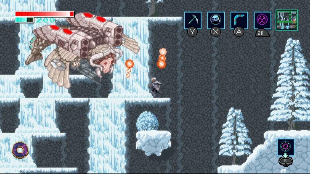 Axiom Verge gameplay