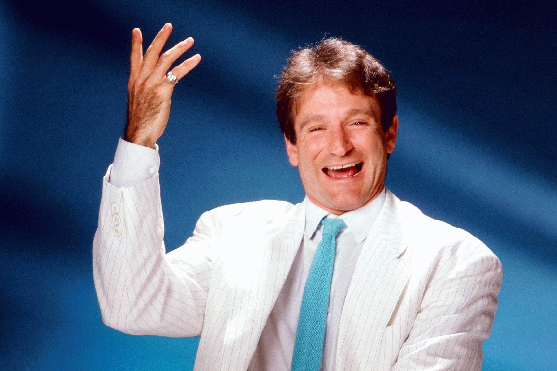 Robin Williams At Los Angeles