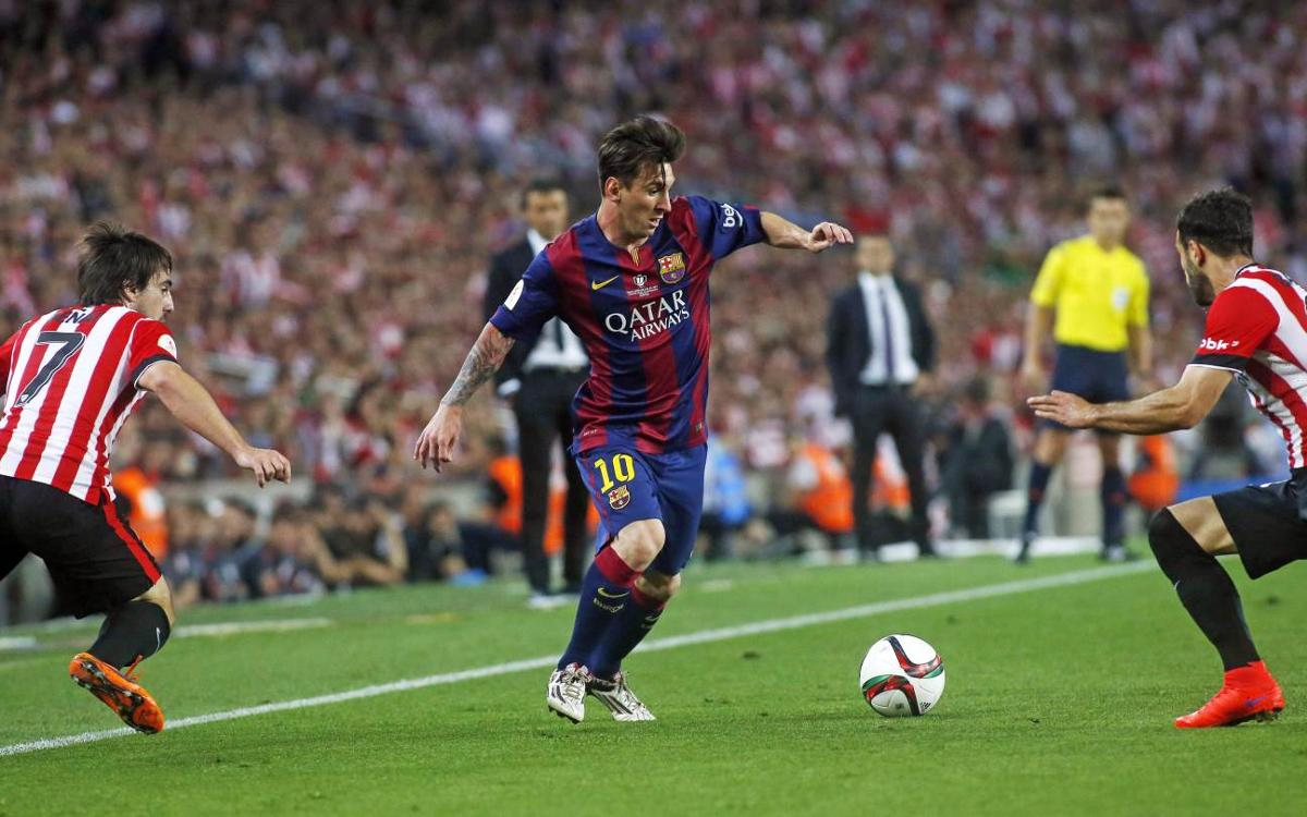 Messi leaving FC Barcelona