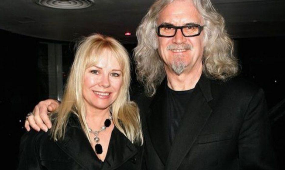 Split between Billy Connolly and Pamela Stephenson