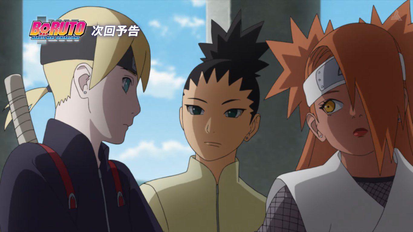 Boruto Naruto Next Generations Episode 221 Preview