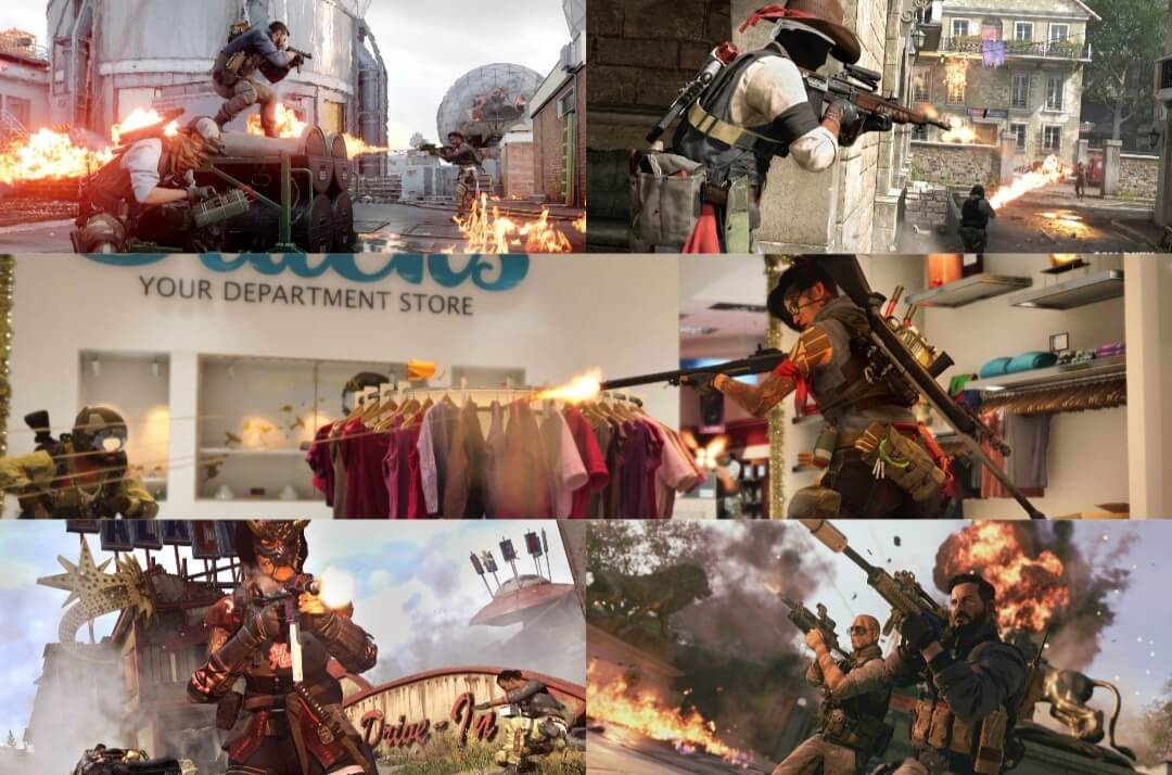 Black ops cold war and warzone multiplayer maps
