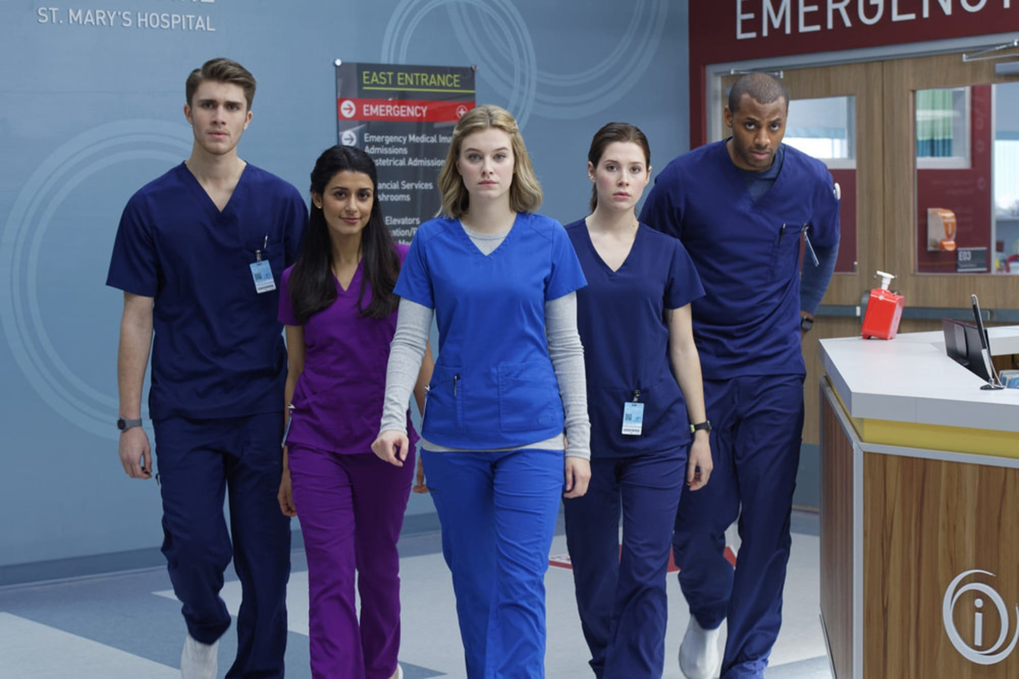 Cast of Nurses Season 2