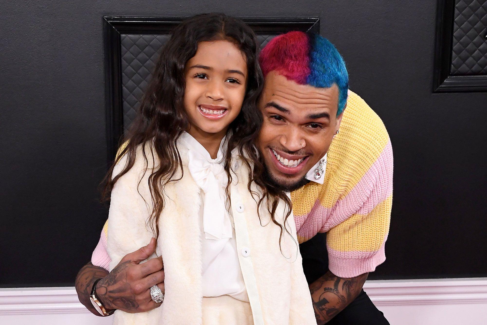 Daughter of Chris Brown