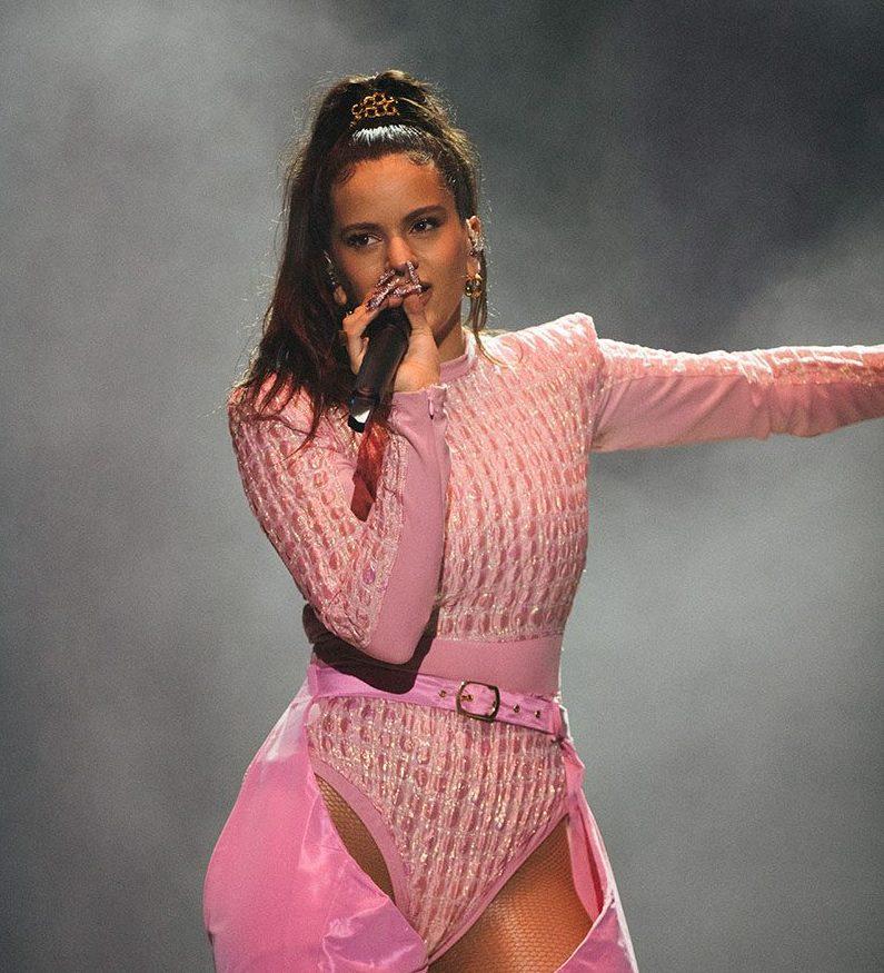 Rosalia performing in 2019