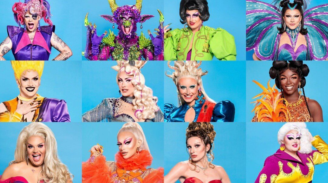 Who are the Contestants of drag race uk season 3