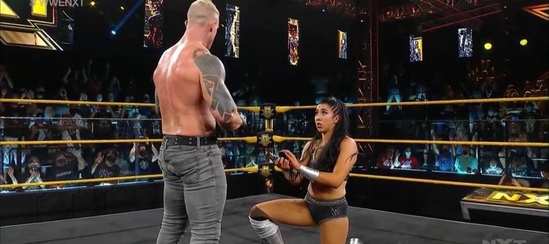 Indi Hartwell and Dexter Lumis