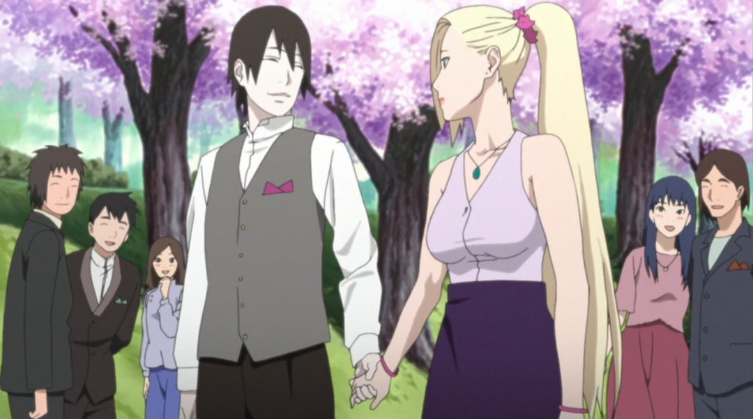 Do Ino and Sai marry each other