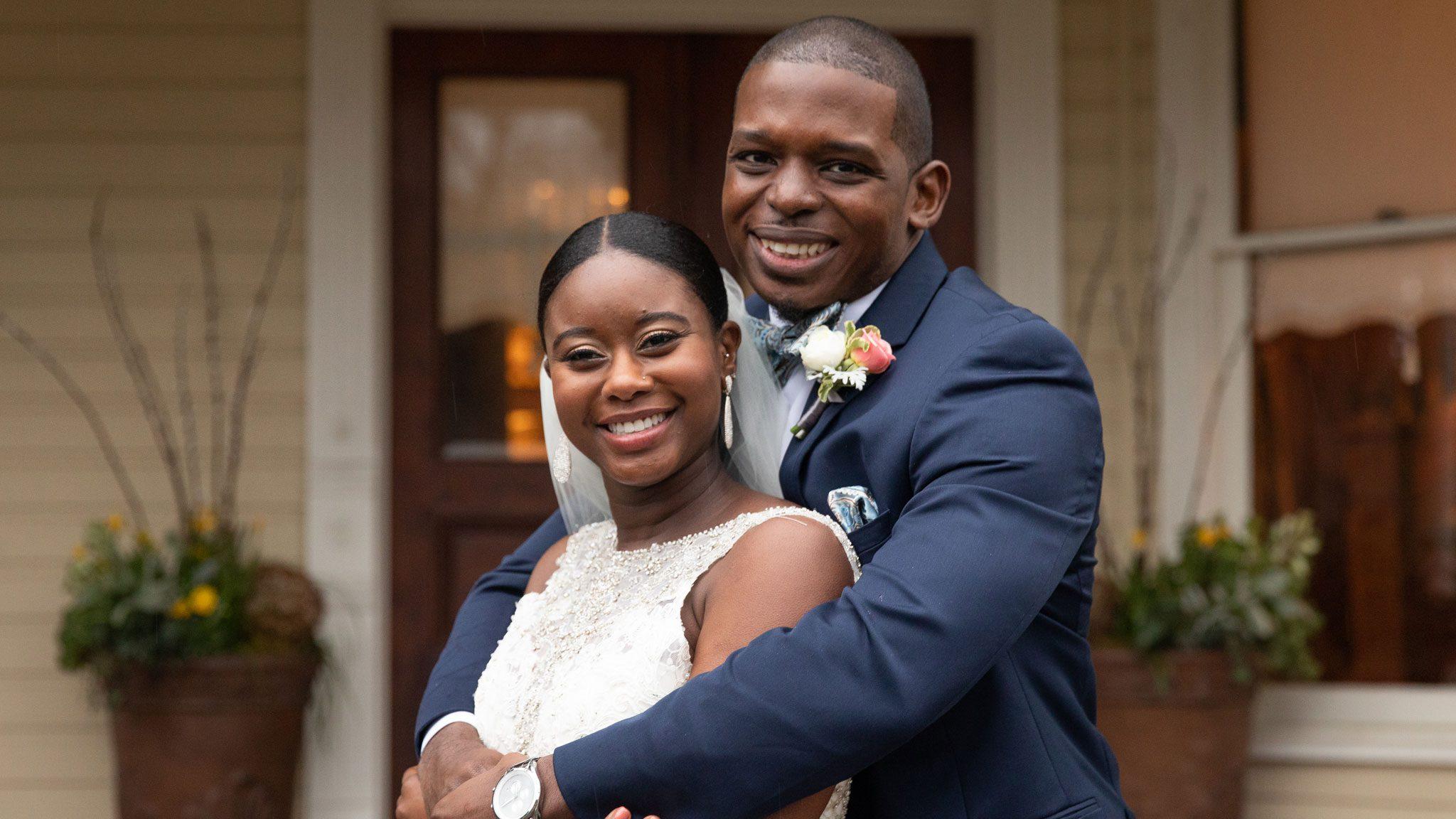 Greg Okotie and Deonna McNeill
