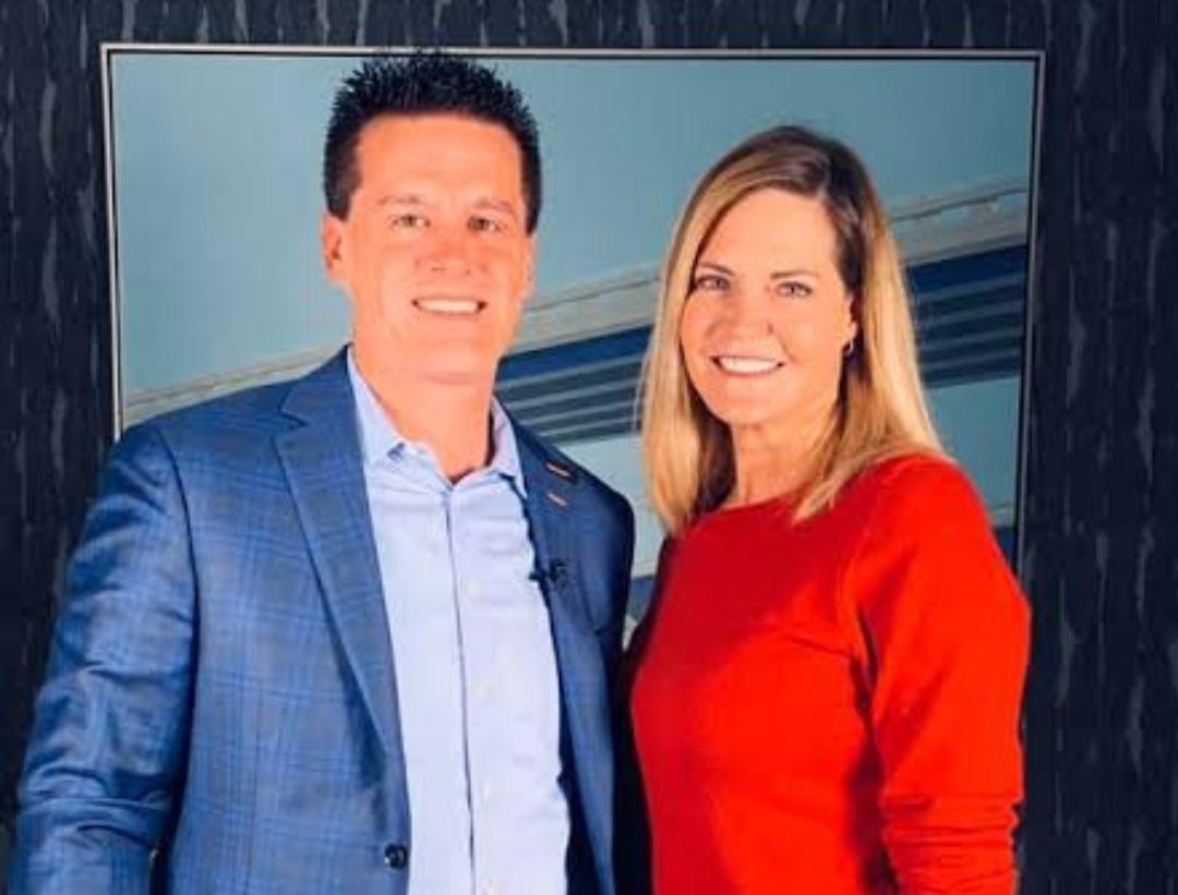 Matt Kaulig and Lisa Kaulig