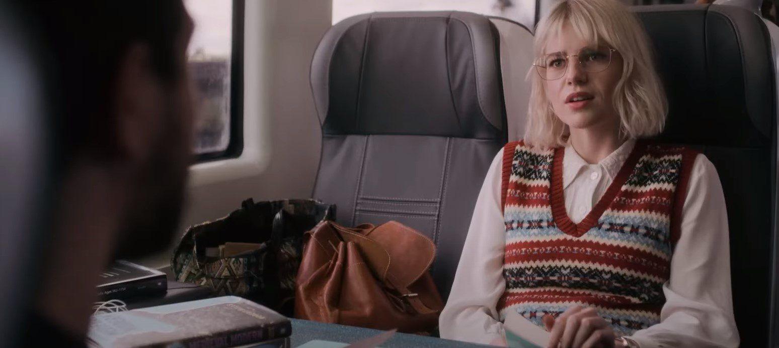 Modern Love Strangers on a Train Ending--