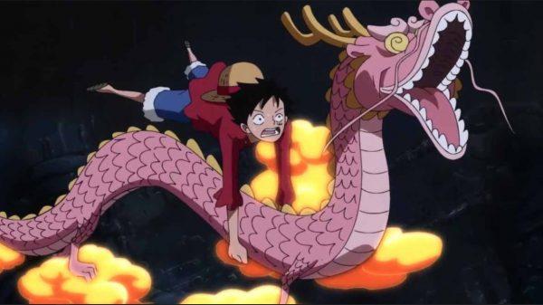 Momonosuke and Luffy
