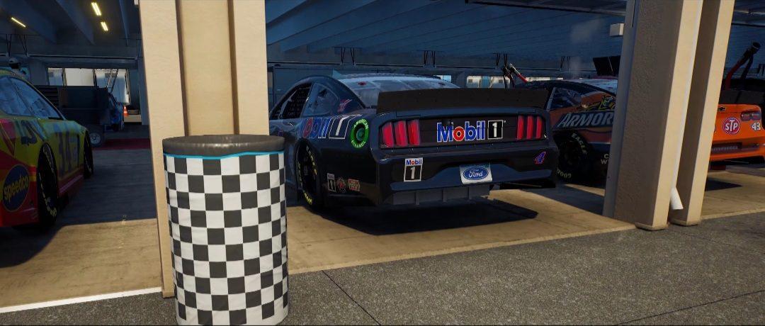 NASCAR 21: ignition gameplay
