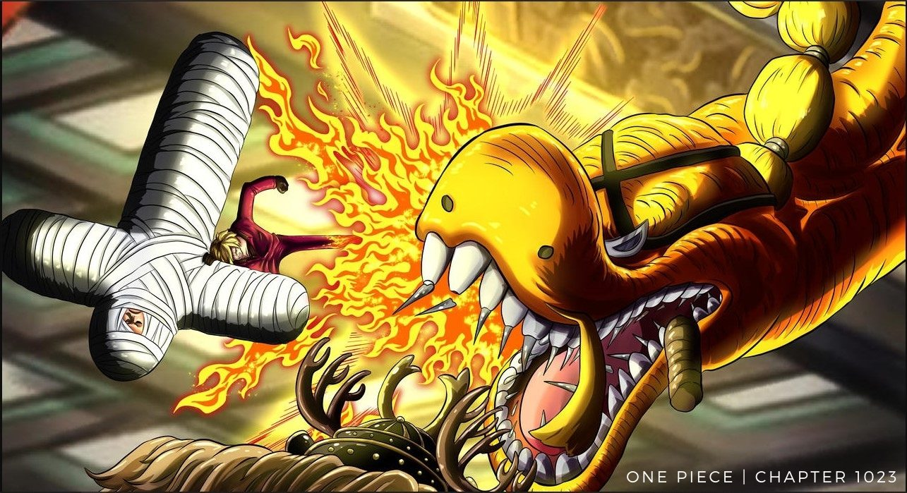 One Piece Chapter 1023