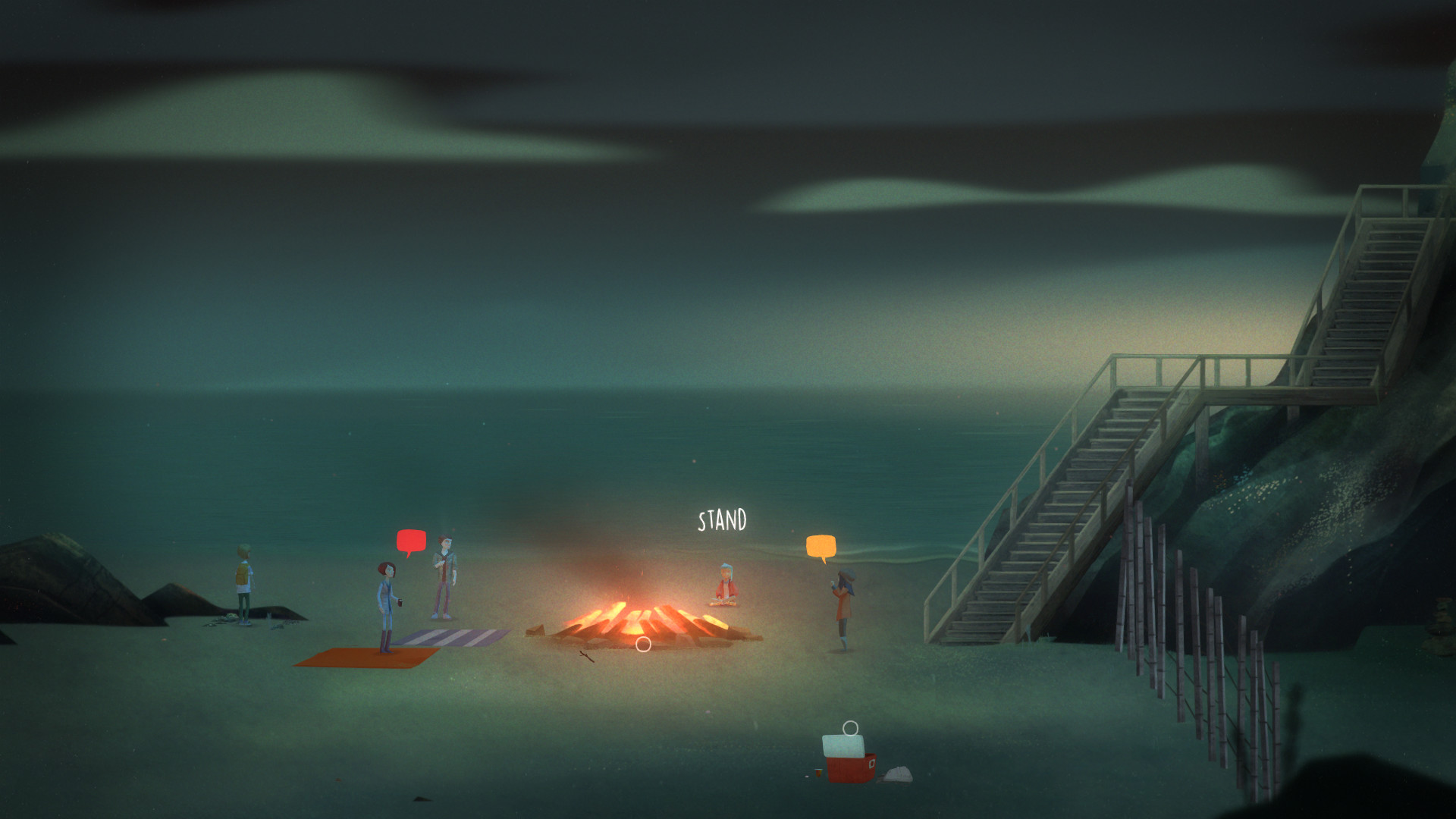 Endings of Oxenfree