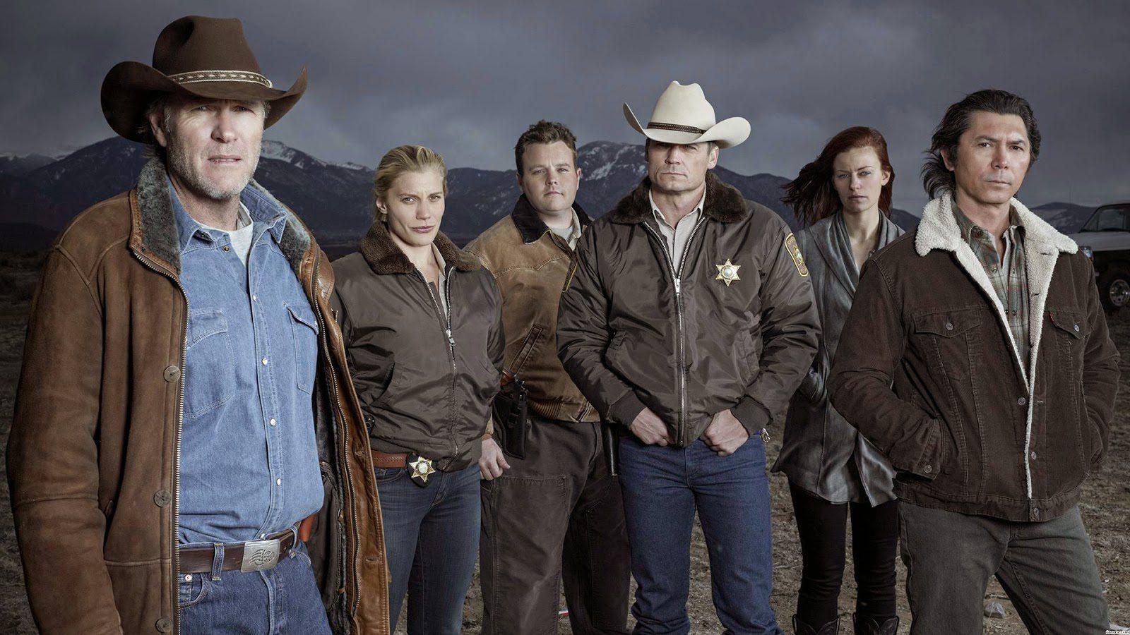 Longmire was filmed in New Mexico