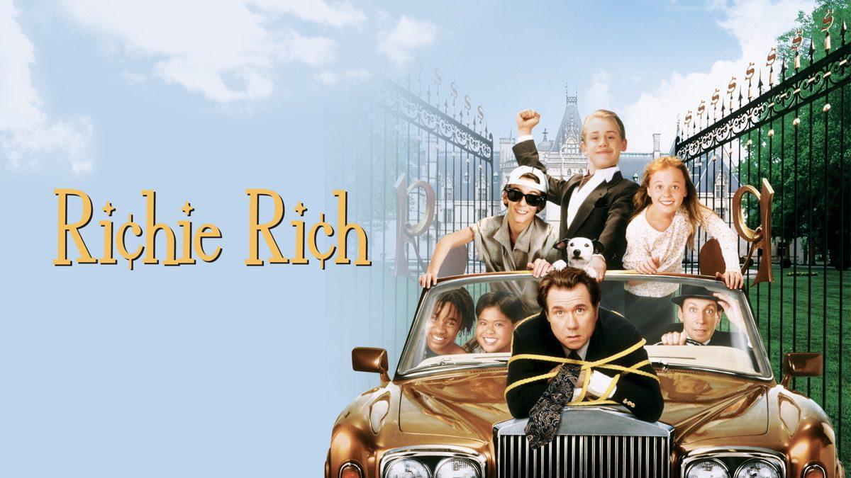 Richie Rich Filming