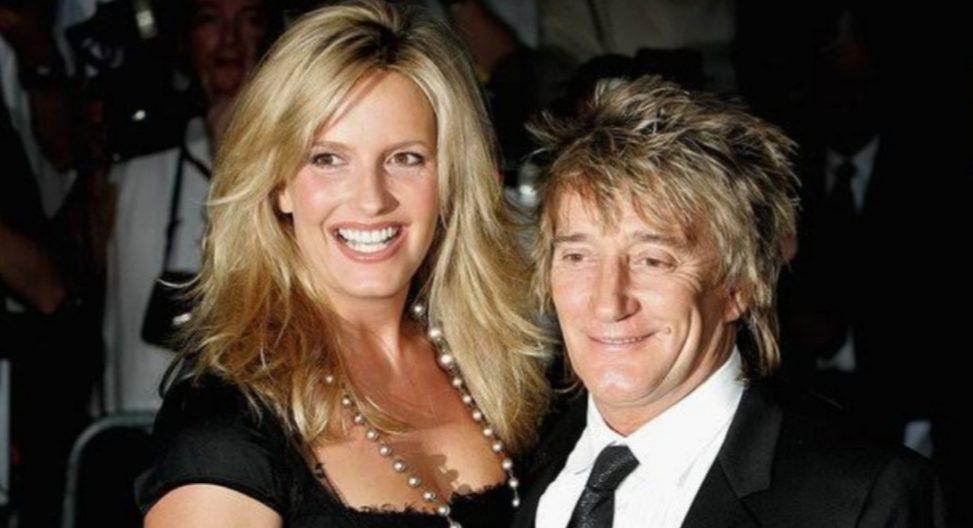 Split between Rod Stewart and Penny Lancaster