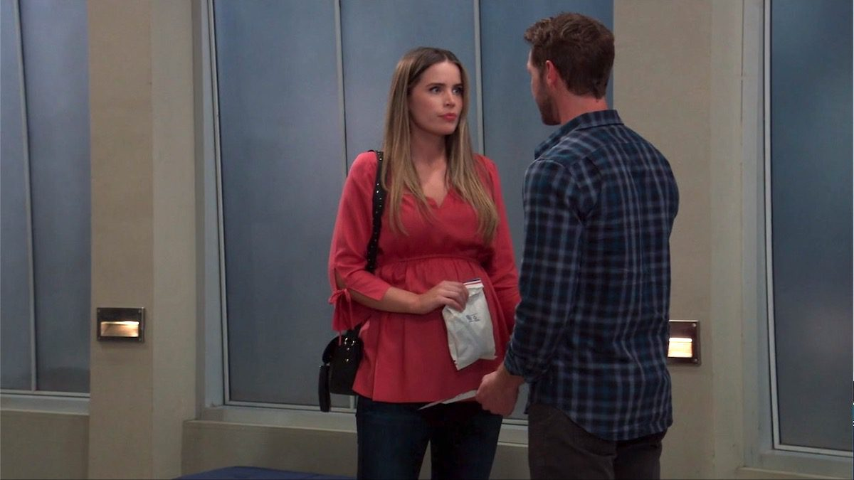 Sasha Gilmore is indeed pregnant in the show General Hospital